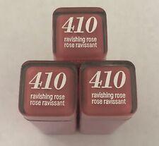 (3) Covergirl Colorlicious Lipstick, 410 Ravishing Rose