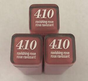 (3) COVERGIRL Colorlicious Rouge à Lèvres, 410 Ravissante Rose