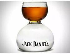 Jack Daniels Whiskey on Water Chaser Jigger -  Bomb Shot Glass