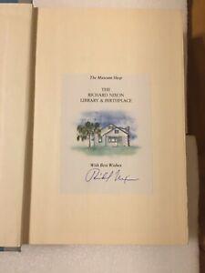 "Richard Nixon President Signed book ""Six Crisis"""