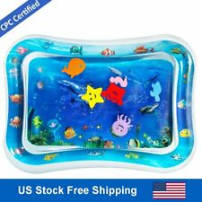 Inflatable Tummy Time Water Play Mat Christmas Gifts for Baby Infants & Toddlers