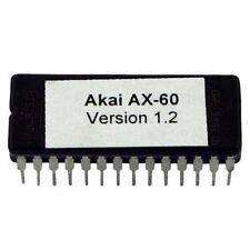 Akai AX60 v1.2 EPROM latest O.S AX-60 Vintage Synthesizer