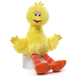 Sesame Street BIG BIRD 30cm Plush by Gund - FREE SHIPPING