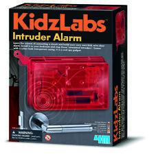Spy Science Intruder Alarm Toy - Childrens Build Your Own Bedroom Door Alarm Kit