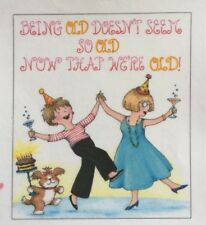Mary Engelbreit Handmade Magnets-Being Old Doesn't Seem So Old