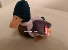 Ty Beanie Baby JAKE THE DUCK APRIL 16, 1997