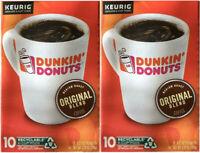 Dunkin' Donut Original Blend Medium Roast Coffee Pod K-Cups 20 Count FREE SHIP!
