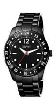 Esprit Damenuhr bold black ES103232001 Analog  Edelstahl Schwarz