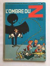 SPIROU ET FANTASIO L OMBRE DU Z T 16 / BD 1RÉ 1967 / FRANQUIN JIDEHEM GREG / TBE