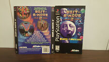 Bust-A-Move 2: Arcade Edition (Sony PlayStation 1, 1996) Manual & back art ONLY