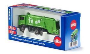 Siku Green Scania Garbage Truck 1:87 Scale 1890