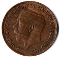 1920 ONE FARTHING OF KING GEORGE V.  / HIGH GRADE    #FARD9