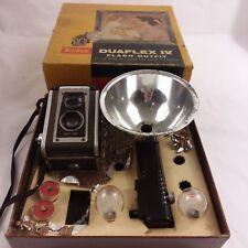 Vintage Kodak Duaflex IV Camera   Original Box