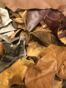 Mixed Quality Of Genuine Leather Cut Outs 2KG