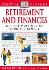 Retirement and Finances (Essential Finance), Sarah Pennells, Marc Robinson, New