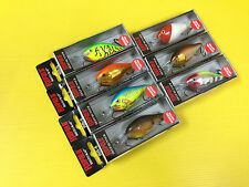 Lot B of Seven Special Edition Rapala Risto Rap RR-5 in 7 Colors Lures, NIB.