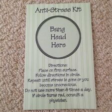 Anti Stress Kit - Novelty Picture Gift