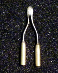 PYROGRAPHY TOOL PEN: SPOON SHADER  3 mm BRASS SHANKS