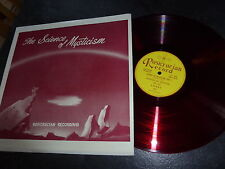 ‎‎vinyle disque 33T LP – The Science Of Mysticism AMORC Rose Croix R+C