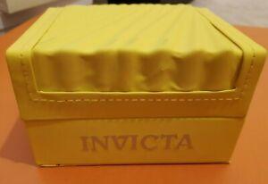 "INVICTA, Watch Gift Box size: 145x110x85mm ""Empty""  Used"