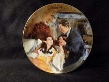 """GONE WITH THE WIND COLLECTORS PLATE """" SCARLETT AND RHETTS HONEYMOON"""""""