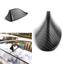 Universal Carbon Fiber Shark Fin Antenna Aerial Car Auto Roof Decorative Cover