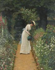 Leighton Blair Edmund My Ladys Garden Print 11 x 14   #5249