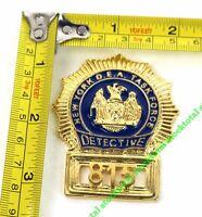 2 CHAPA CARTERA DETECTIVE USA NUEVA YORK 09180 M13