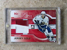 10-11 ITG H&P Heroes Prospects LARS ELLER National Pride Jersey Gold /10