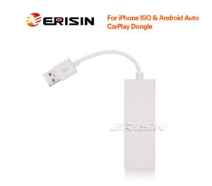 Erisin ES222 Universal Android & iPhone USB CarPlay & Android Auto Dongle