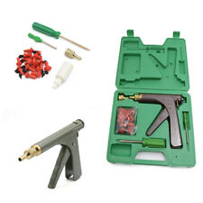 Vacuum Car Tire Plugger Tubeless Tire Wheel Repair Gun With Plugs Air Pressure