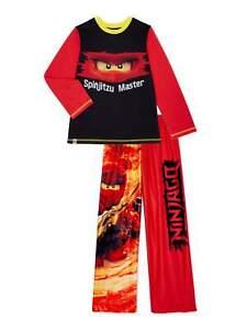 NWT Boy's LEGO Ninjago Pajamas Shirt Pants Ninja 4 5 6 7 8 10 12 S M L