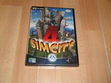 SIM CITY 4 SIMULACION DE EA GAMES PARA PC PRIMERA EDICION NUEVO PRECINTADO