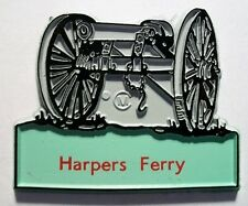 Classic Harpers Ferry West Virginia with Cannon Fridge Magnet