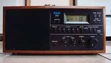 Vintage KLH 200 AM/FM Stereo Table Top Wood Radio w/clock