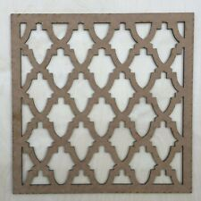 Radiator Cabinet Decorative Screening Square Radiator Grille MDF 3mm and 6mm P78