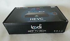Android Player HEVC TT TV Box, Model M8S, w/Remote