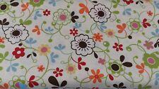 Moda BasicGrey MOMO Freebird Flowers OOP New Fabric 32241-18 BTY 1 Yard