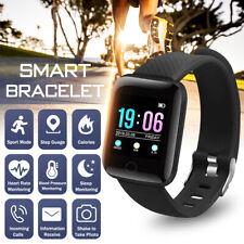 Smart Bracelet Wristband Watch Blood Pressure Heart Rate Monitor Fitness Tracker