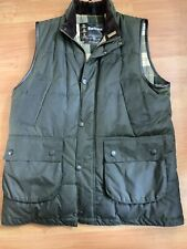 Barbour Westmorland A848 Wax Cotton Down Touch Waist Coat Size Medium VGC Badged