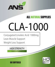 Conjugated Linoleic Acid (CLA) 1000mg x 30 Softgel Capsules