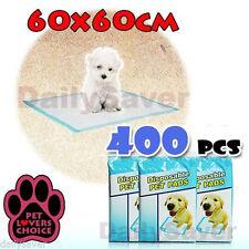 400pcs Puppy Pet Dog Indoor Cat Toilet Training Pads Super Absorbent 60x60cm