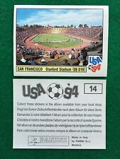 USA 94 n 14 SAN FRANCISCO STANFORD STADIUM STADIO Figurina Sticker Panini (NEW)
