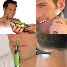 Men's Nose Ear Face Neck Hair Beard Mustache Trimmer Shaver Clipper Grooming Kit