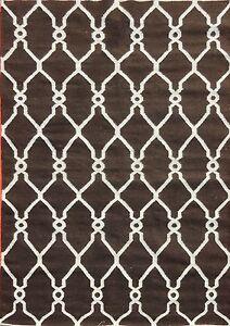 New Original Afghan Kilim Rug Hand Woven Natural Wool Carpet Kelim 5x8 Feet