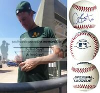 Chris Bassitt Oakland Athletics A's Autograph Signed Baseball White Sox Proof