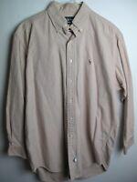 Vintage 90's MENS Ralph Lauren shirt Size *15 1/2-32*