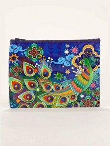 Blue Q Zipper Pouch Eco Friendly Recycled Material