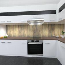 Kitchen wall Premium Rigid PVC 0,4mm Stove splashback for wooden design