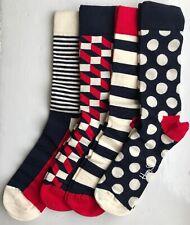 Happy Socks Men's Gift Box (4 Pairs) - UK7-11 / EU41-46 / US 8-12 - XBDO09-6000